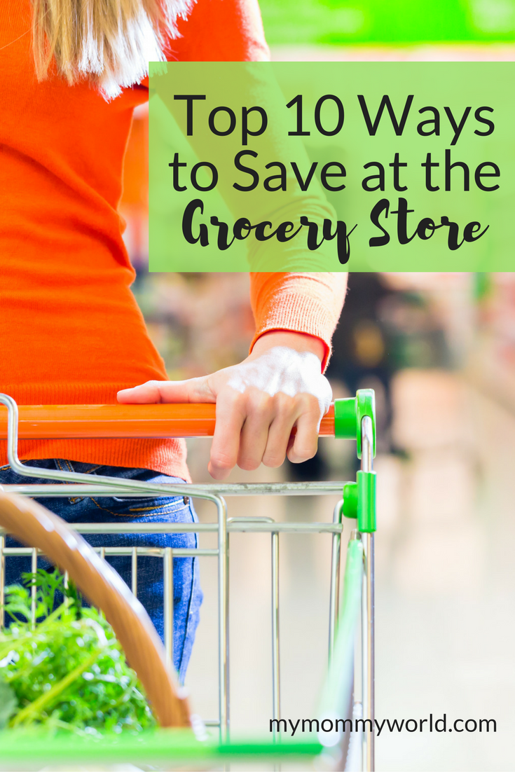 Learn how to save money on groceries with these 10 helpful tips! You don't just have to use coupons to save money on groceries...there are many other ways to cut your grocery budget and still be able to create healthy meals for your family. Use these tips to get your grocery budget under control while still eating well.