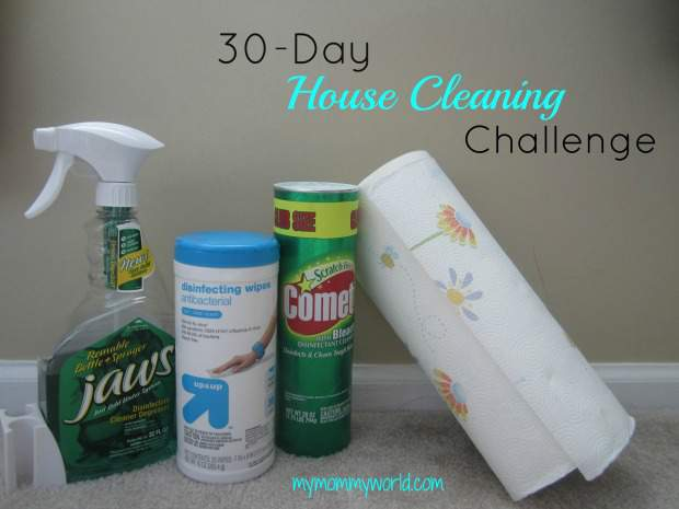30-Day House Cleaning Challenge content