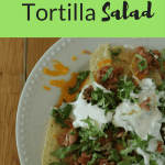 Tuna Salsa Tortilla Salad: A Healthy Lunch Recipe