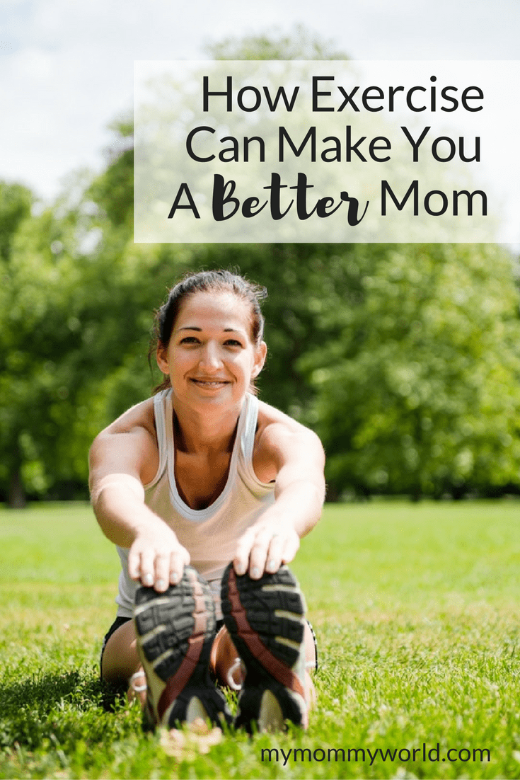Sometimes we moms lack exercise motivation because we are busy with the kids, but did you know that exercise can actually make you a better mom? In addition to helping you to lose weight, exercise contributes to healthy living by improving your mood, energy level and ability to get more sleep.