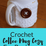 Crochet Coffee Mug Cozy Tutorial