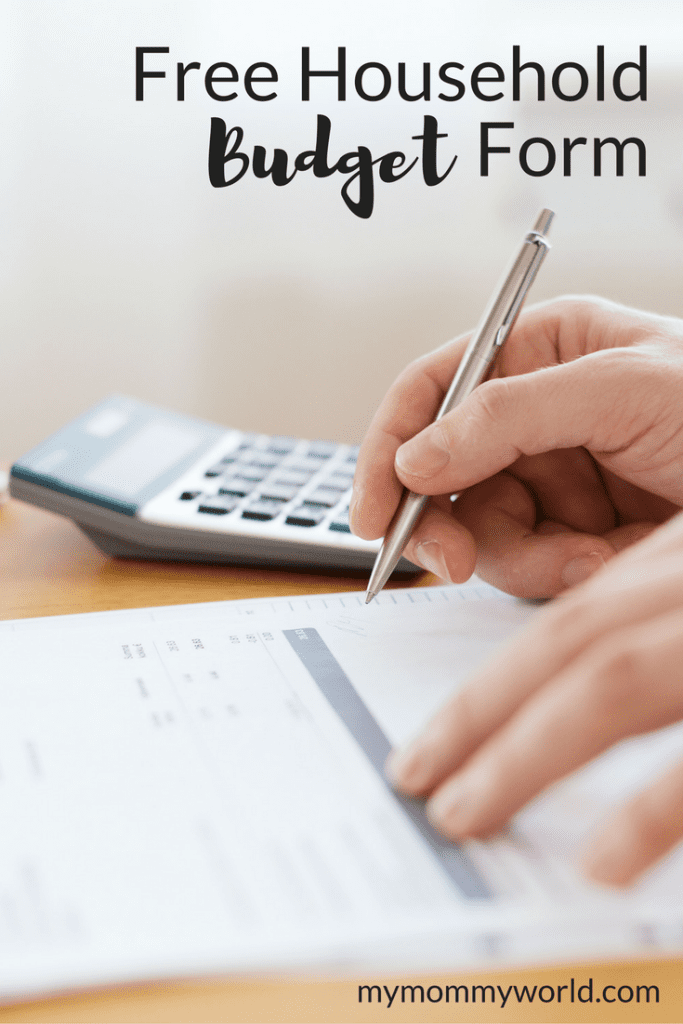 Get your monthly budget under control with this free printable budget planner. Using a simple form with categories for all of your spending will help you keep track of where your money is going so you can reach your financial goals.