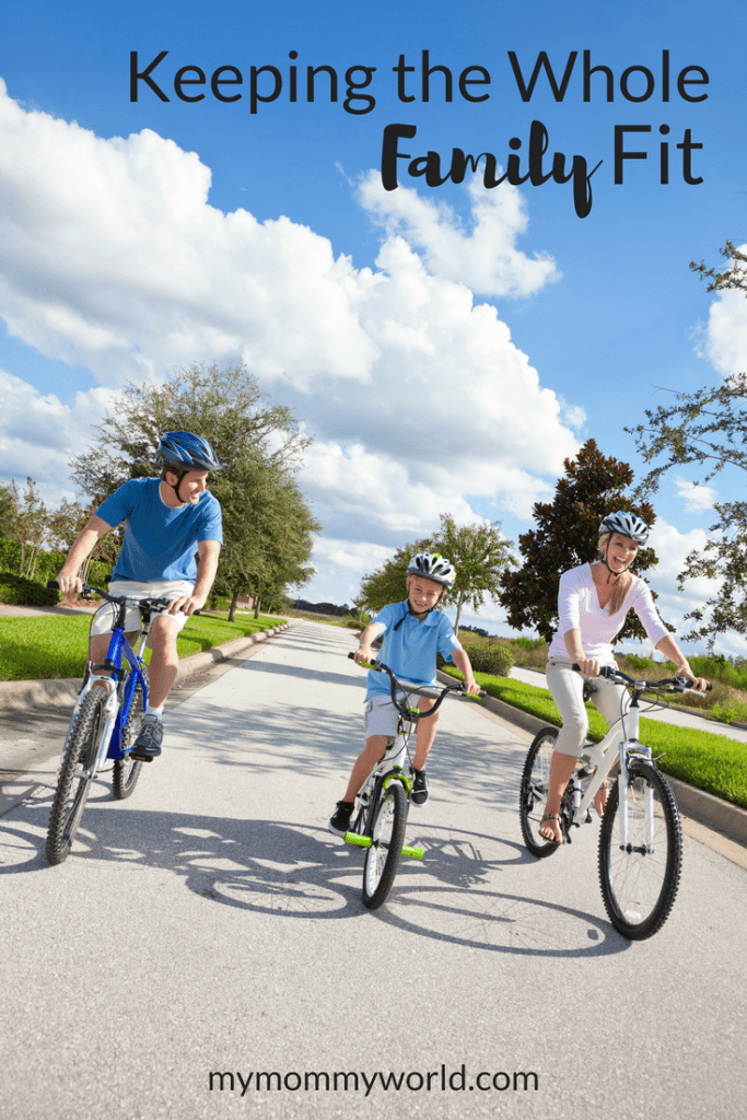 Keeping the whole family fit can be difficult. Use these family fitness ideas to encourage physical fitness in your kids as well as mom and dad too!