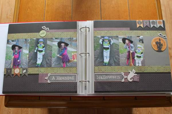 Organizing Family Photos - Scrapbooking Album