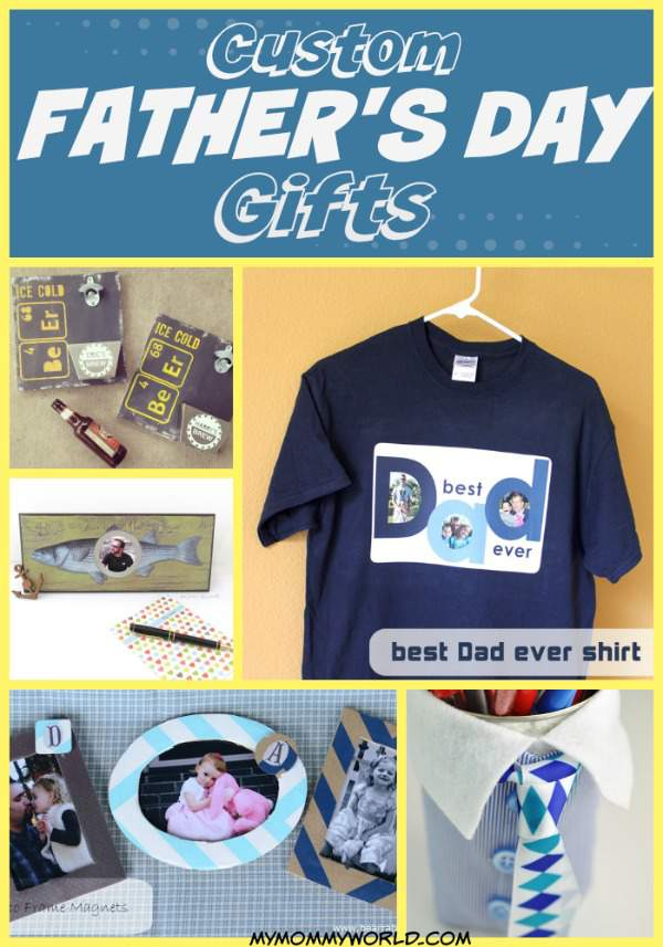 Give Dad a unique fathers day gift this year with these custom fathers day gift ideas. Make your dad or grandpa a DIY shirt, photo frame or other special fathers day crafts that will let him know how much you love him.