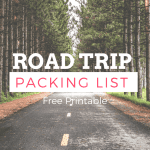 Free Road Trip Packing List