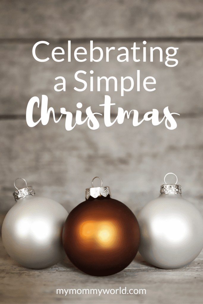 Overwhelmed at the thought of all you have to do during Christmas? Celebrate more simply this year with simple Christmas gifts, simple Christmas decorations, and simple Christmas craft ideas to take off some of the pressure to create the perfect holiday for you and your family and friends.