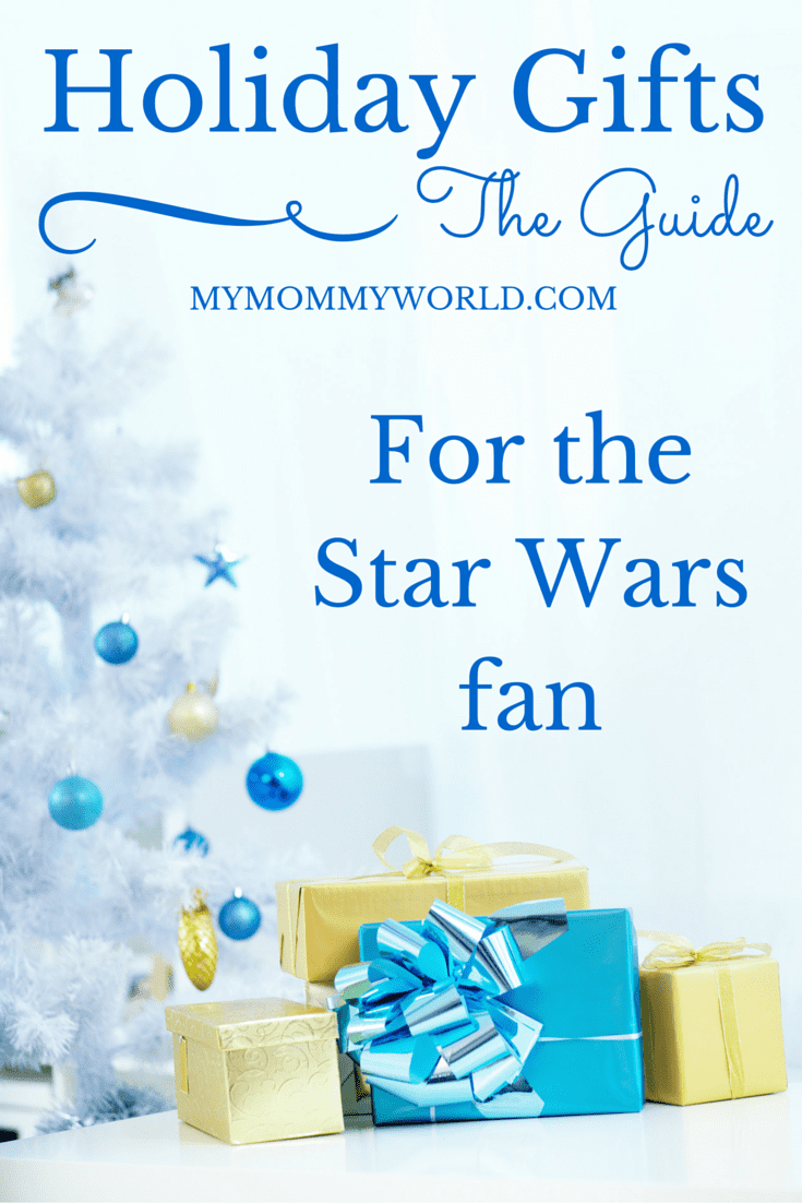 Looking for holiday gift ideas for the Star Wars fan in your life? Inside this holiday gift guide, you'll find lots of fun Star Wars gifts that will bring a smile to fans of both Jedis and the Dark Side!