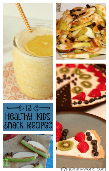 Give your kids something healthy to eat after school with one of these healthy kids snack recipes!