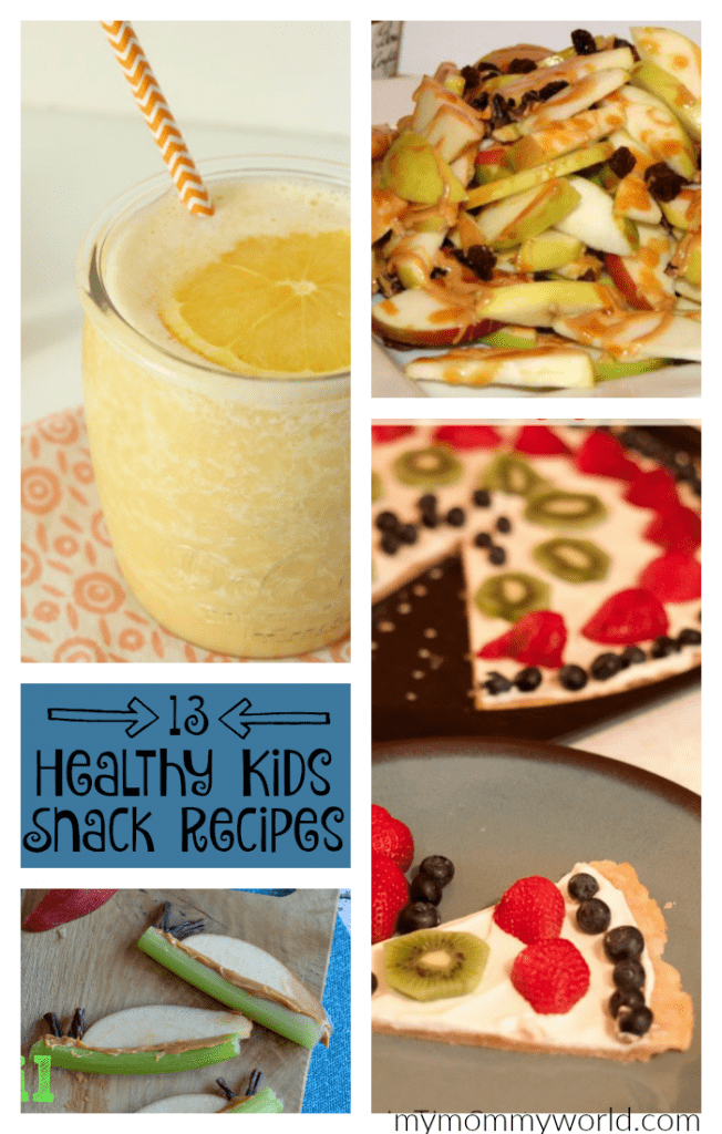 If your kids are bored with the same old snacks after school, try out these fun and healthy kids snack recipes. The easy, homemade recipes are a hit (even with picky eaters), and they are so yummy, your kids will never guess how nutritious they are!