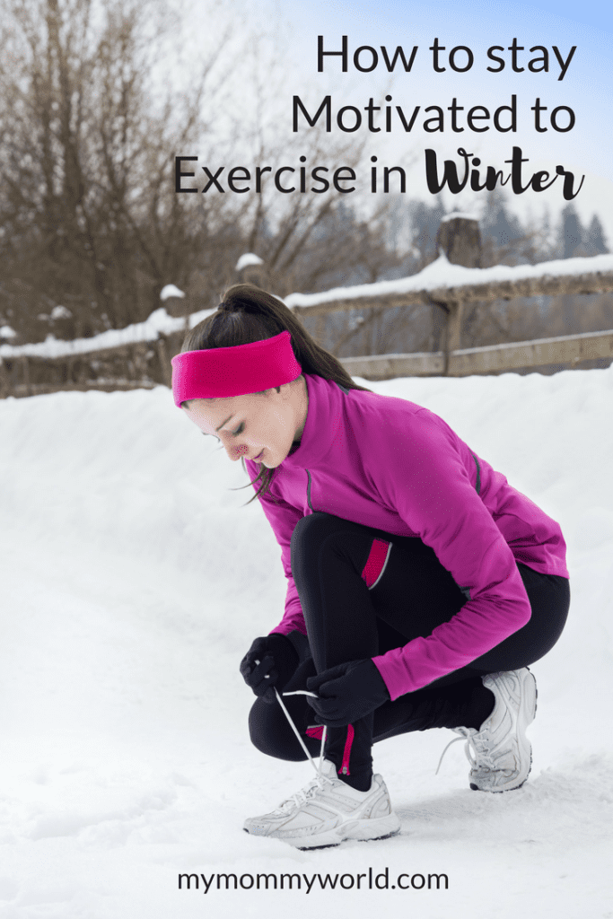 Sticking to your exercise routine is tough in winter with the cold temperatures, snow and ice. Keep up your winter exercise motivation with these tips and ideas.