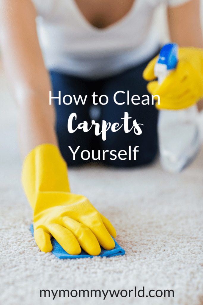 As a mom with two young children and a dog, messes on the carpet are an inevitable fact of life. But if you have to call a professional carpet cleaner every time somebody spills juice on the rug or the dog has an accident, you'll end up spending some serious money. That's why it's a good idea to learn how to clean carpets yourself.