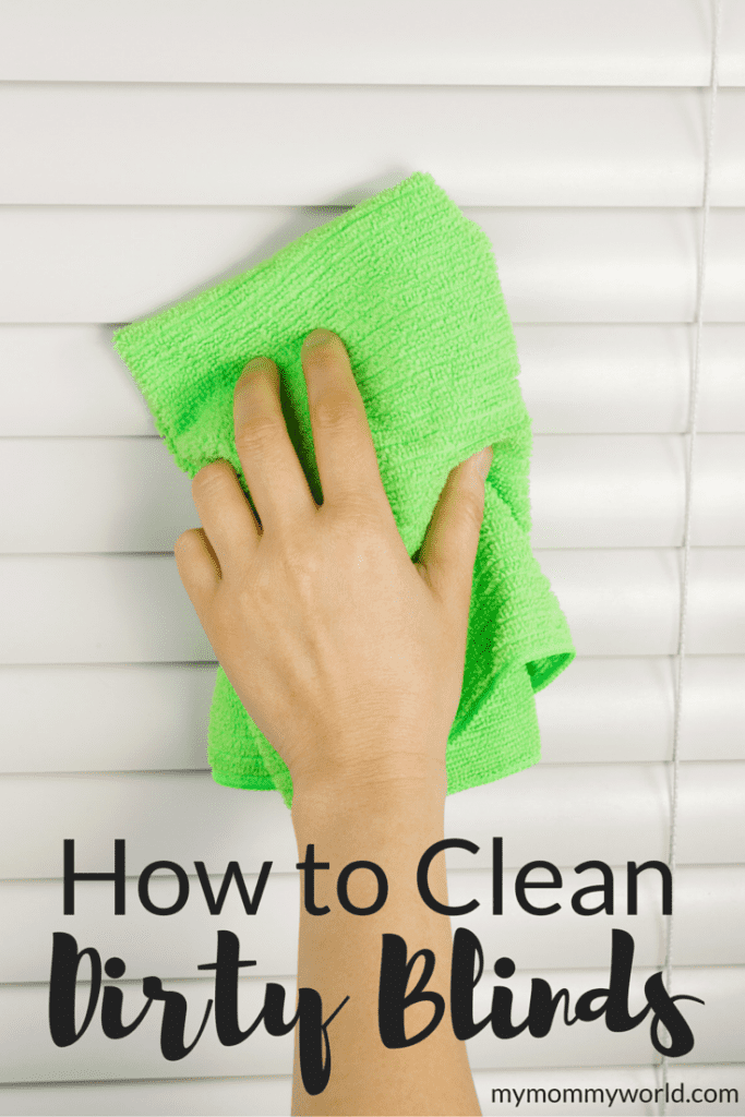 It's one place that we don't often think about cleaning, but with dust, pollen and pet hair floating around, our window blinds can start to look dingy. Here are some quick tips on how to clean dirty blinds.