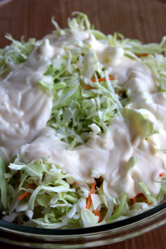 This delicious copycat coleslaw recipe is a simple side dish to make for just about any meal. Its classic creamy taste will win over your family and no one will know how easy it was to make!