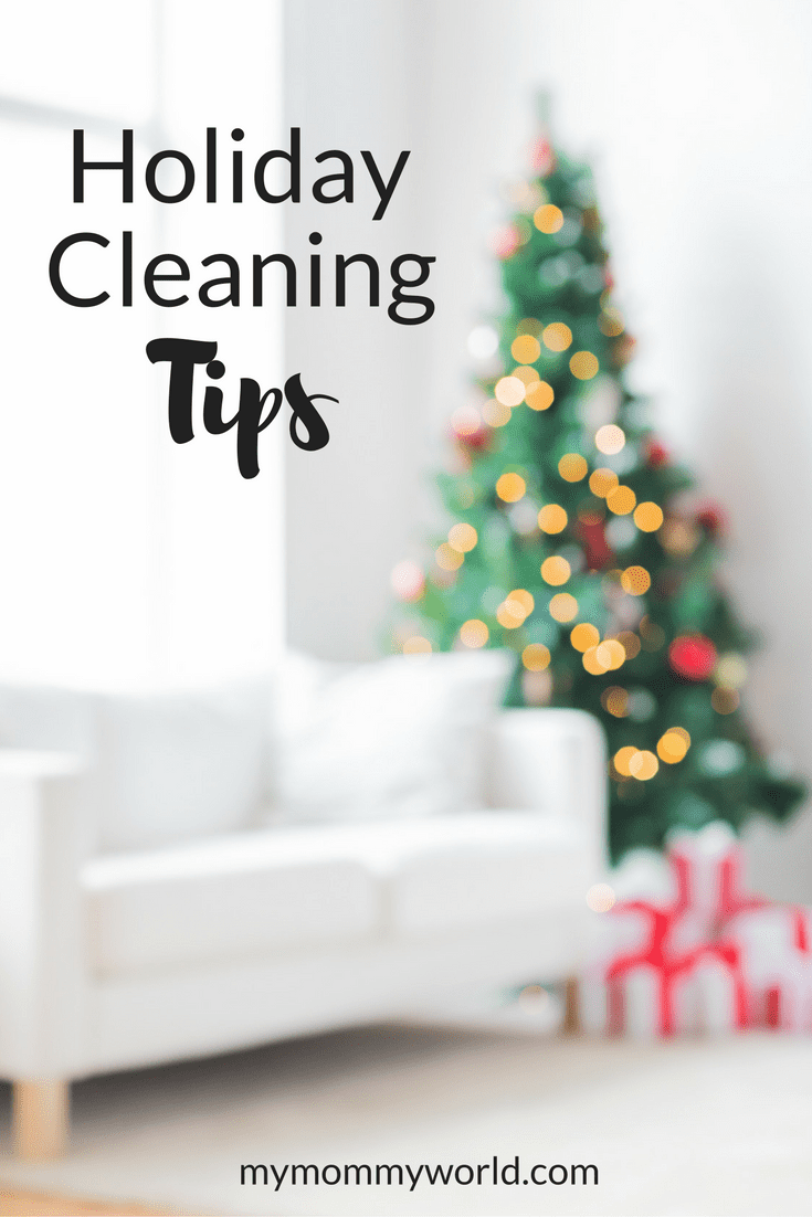 Get your home ready for the holidays with these Holiday Cleaning Tips! These quick cleaning tips will get the important areas of your home into company-ready shape in just minutes so you don't have to spend all day with your mop and sponge.