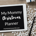 My Mommy Christmas Planner