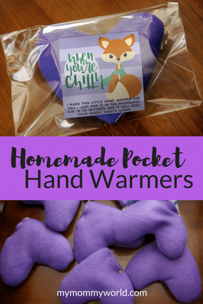 handmade pocket hand warmer