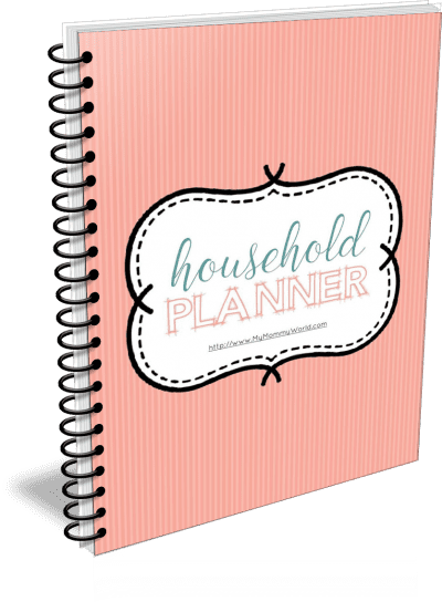 cover of household planner