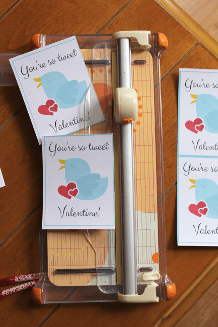 These free printable valentines for school will make prepping for Valentine's Day a breeze! Just download, print, cut and attach a cute pen or piece of candy and you have an easy Valentine for school without a lot of fuss.