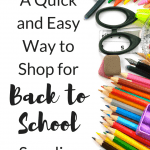 The Back to School Supplies List: How Moms can Save Time and Money