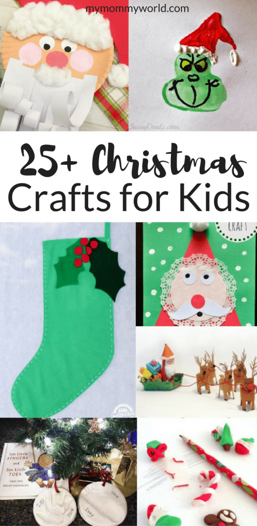 gallery of Christmas crafts for kids