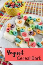An Easy Breakfast Your Kids Will Love: Yogurt Cereal Bark